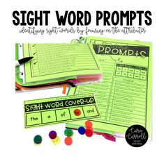 The First Grade Parade: 5 Tips for Teaching Sight Words - How to Make Them Stick!