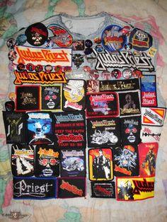 Judas Priest Tribute Jacket   TShirtSlayer TShirt and BattleJacket Gallery
