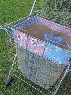 A flea market basket!