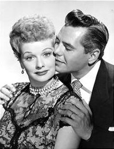 """I love Lucy and she loves me. We're as happy as two can be! Sometimes we quarrel but then...ha ha haaa...how we love making up again. Lucy kisses like no one can, she's my misses and I'm her man and life is heaven you see! Cause I love Lucy, yes, I love Lucy and Lucy looooves meeee!!!"" :)"