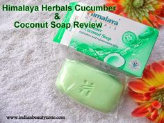 Himalaya Herbals Cucumber and Coconut Soap ReviewHello Beauties,I know so many of you not using soap and using body wash. But, I am not much into body washes, I am using soap for my body skin always. I love handmade soaps very much. I have tried all type of Himalaya herbals soaps, but not satisfied.