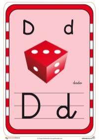 abecedario en color d Preschool, Activities, Logos, Alphabet, Learning Letters, Creative Writing, Lower Case Letters, Index Cards, Preschool Reading Activities