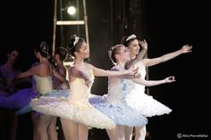 Yuhui Choe, Meaghan Grace Hinkis, Marianela Nunez. (Alice Pennefather backstage with the Dryads, ROH DonQ)