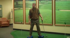 A Great and simple training tips using Balance Disk..Mike teaches here how to improve your stance and show the proper position upon hitting the ball. Learn more here http://www.stlouisgolfpro.net/video-golf-tips/ you can also check our soundcloud for more tips and subscribe in our youtube channel. .http://bit.ly/1qd85S0 https://www.youtube.com/user/StLouisGolfLessons Check some awesome strories about our practice and services here: http://tinyurl.com/q8787jr