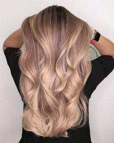 haar kleuren 17 Best Most Exclusive Fall Hair Color Blondes caramel - scoviral Honey Blonde Hair, Blonde Hair Looks, Brunette Hair, Brunette Color, Blond Rose, Blond Beige, Ombré Hair, Hair Dos, Rose Hair