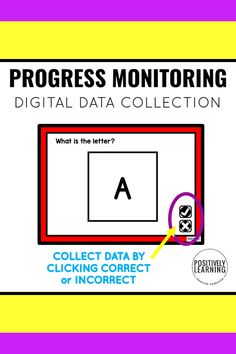 Digital data collection - early math and literacy sets for progress monitoring! There are 26 targeted skills to use for collecting baseline data and monitoring progress. All sets are Boom Learning task cards.