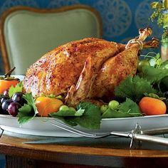 Herb-Roasted Turkey   Turn up the flavor on classic Thanksgiving fare with this show-stopping bird.   SouthernLiving.com