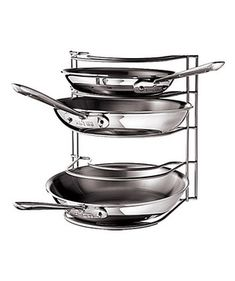Rubbermaid Metal Pan Organizer - perfect for crowded cabinets