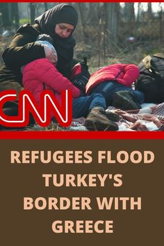 "Thousands of migrants are camped near Turkey's border with Greece after the Turkish government said it has ""reached its capacity"" for refugees. CNN's Arwa Damon reports."