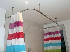 PHOS Duschvorhangstange L-Form | Form, Shops und Kaufen