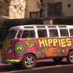 Vw dang hippies