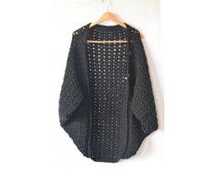 Crochet Kit - The Easy Blanket Sweater. Lion Brand! Love them! This looks so warm and comfy, I'm looking forward to making one.