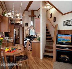 Wilderness Cabin Pine Interior