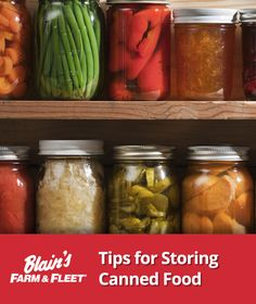 Safely store canned food with these 3 helpful tips!