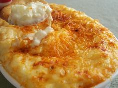 Baked Sweet Onion Cheddar Dip.