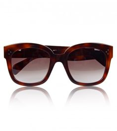 8d82033ba0 Céline Tortoiseshell Wayfarer Sunglasses from www.profilefashion.com
