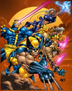 Xmen - I like the movies better than the cartoons, and I've seen them all.