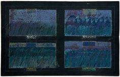 «Тяжелая вода». Питер Гринуэй Four Rough Seas, 2009, acrílico con tiza