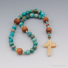 Anglican Prayer Beads Christian Rosary by UnspokenElements