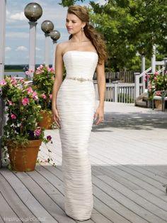 Vestido de novia Tipo Tubo #Bride #WeddingDress #dress #YUCATANLOVE