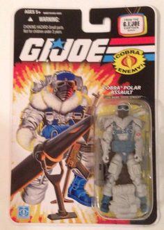 G.I. JOE Cobra Snow Serpent Polar Assault Soldier Wave 9 Action Figure #Hasbro