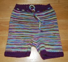 "#70 Discobaby knits ""beautiful dreamer"" on BFL Aran shorties.  H- 21. R- 19. I- 3.5"