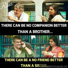 No better companion than Brother, No best friend than a Sister, Visit the post for more. Sister Quotes Images, Bro And Sis Quotes, Best Brother Quotes, Sisters Images, Sibling Quotes, Sister Quotes Funny, Crazy Girl Quotes, Family Quotes, Funny Quotes