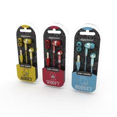 Hipstreet Earphone Packaging Concept – ear•mote Series on Behance