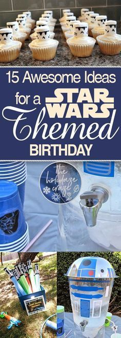 Star Wars Birthday Party Ideas, Star Wars Party, Birthday Party Ideas, Birthday Party Themes, Kids Birthday Party, Fun Birthday Party Themes, Party Ideas, Popular Pin