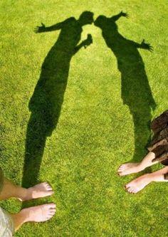 Shadow kisses