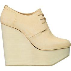 Ets Callatay Women's Classic Derby Platform Wedge Heels ($660)