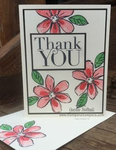 Klompen Stampers (Stampin' Up! Demonstrator Jackie Bolhuis): Garden In Bloom Card BLAST Continues