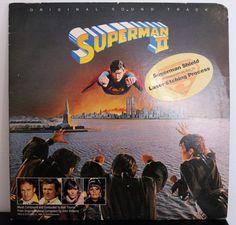Superman II 2 - Vinyl LP Etched 12' US
