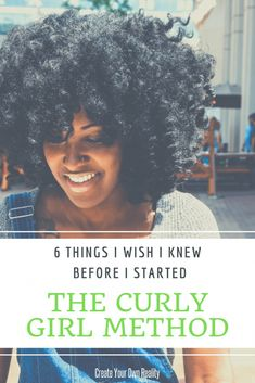 What I Wish I Knew Before I Started the Curly Girl Method - If you're a curly girl method beginner, This post is for you! See how what I wish I knew before I started using these naturally curly hair tips, and see how they might be able to help you too! Curly Hair Types, Curly Hair Care, Natural Hair Tips, Natural Hair Styles, Long Hair Styles, Curly Girl Handbook, Women Haircuts Long, Twist Hairstyles, Party Hairstyles