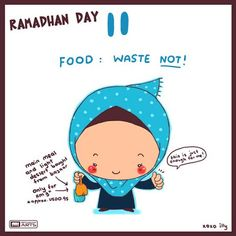 """day 11 """"food : waste not!"""""""