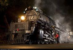RailPictures.Net Photo: 4014 Union Railroad Steam 4-8-8-4 at Pomona, California by Steve Crise