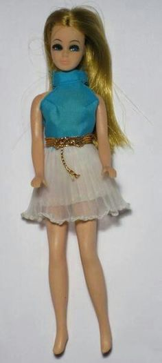 Dawn Doll. Half the size of Barbie.
