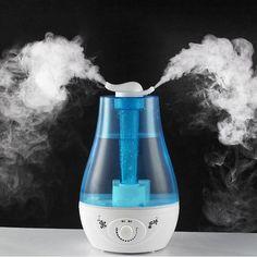 Air Humidifier Ultrasonic Aroma Diffuser Humidifier for home Essential Oil Diffuser Mist Maker Fogger  Difusor De Aroma