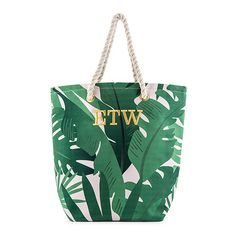 Cute, tropical leaves printed on a soft, retro pink background makes this large custom personalized cotton canvas fabric tote bag a fun, must-have for. Custom Tote Bags, Personalized Tote Bags, Fabric Tote Bags, Canvas Tote Bags, Canvas Totes, Mama Baby, Bridesmaid Gifts Unique, Reusable Shopping Bags, Parent Gifts