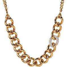 Juicy Couture luxe rocks chain necklace. #bling