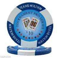 SALE 150 x $10 Tournament Pro 11.5 gram Poker /Casino Chips New FREE SHIPPING
