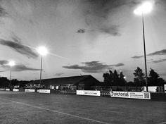 The New Manor Ground, Ilkeston FC, England
