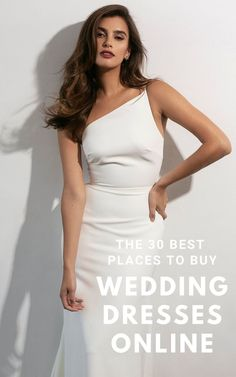 You don't need to visit salons to find your perfect dress! Here are the 30 best online shops for wedding dresses in any budget & style including designer gowns at a discount from resale sites like Still White and Nearly Newlywed.