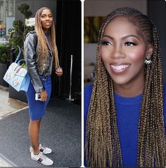 Beautiful new photos of Tiwa Savage in braids Black Girl Braids, Braids For Black Hair, Girls Braids, Box Braids Hairstyles, Dreadlock Hairstyles, Hair Updo, Protective Hairstyles, Wedding Hairstyles, Black Girls Hairstyles