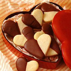 Be My Valentine Cookies from Land O'Lakes