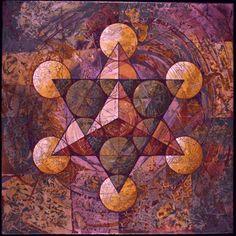 CG: Sacred Geometry: Double Tetrahedron In Metatron's Cube