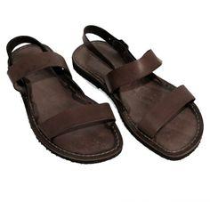 Men Leather Sandals - Sandali Classici Uomo. Link: www.sandalishop.it