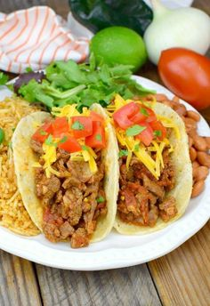Have you ever seen Carne Picada at your local meat department. Check out how I turned it into some mighty delicious Steak Tacos!