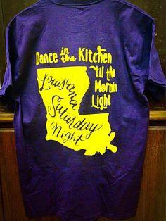 Louisiana Saturday Night T-shirt by SimplySouthernFixins on Etsy