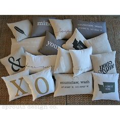 new pillows for a new year